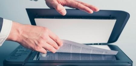 scanner. scanear. documento digitalizado.