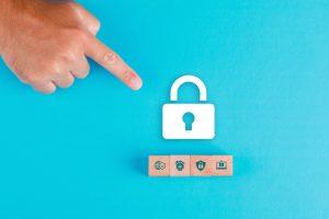 proteção de dados; cadeado; privacy by design; LGPD